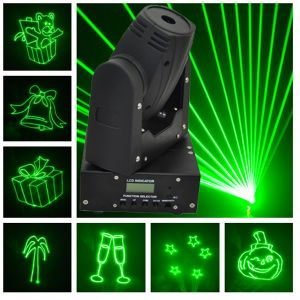 50MW Green 15kpss DMX Mini Moving-Head Animation Laser Light pictures & photos