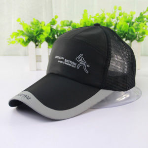 Man Fashion Printed Black Mesh Baseball Cap (YKY3032) pictures & photos