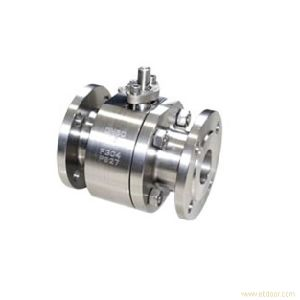 800lb/2500lb Flanged 2 PCS Forged Steel Floating Ball Valve (Q41F) pictures & photos