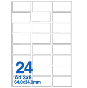 Professional Good Price Blank Label Sticker pictures & photos