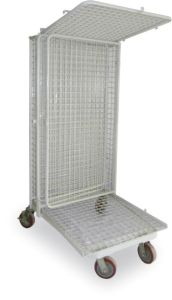 Wire Mesh Roll Storage Cage pictures & photos