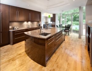 Home Furniture Wholesale18mm Plywood Kitchen Cabinet Design pictures & photos