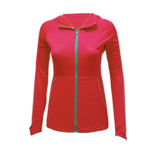 Fashion Anti-UV Women Sport Running Jacket pictures & photos