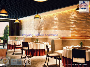 Fire-Resistant Restaurant Decorative 3D Wall Panels (NO215MSWP18) pictures & photos