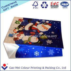 Kraft Paper Printed Gift Paper Bag for Merry Christmas pictures & photos