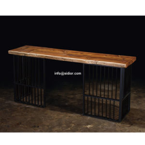 (SD-8404) Modern Hotel Restaurant Club Furniture Solid Wood High Bar Table pictures & photos