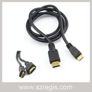 Tachograph Connection Television Male to HDMI 19p AV Data Cable pictures & photos