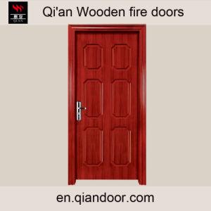 Sapele Veneer Heat-Insulation Wood Door pictures & photos