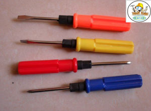 Superior Magnetic Phillips Screwdriver with CRV Magnetic Blade Andcrystal Handlet