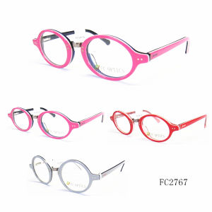 Italy Retro Kids Fashion Acetate Optical Frame pictures & photos