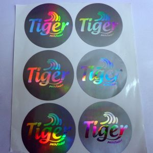 Hologram Sticker, 3D Dome Hologram Sticker, Custom Epoxy Hologram Sticker pictures & photos