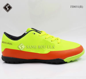 Indoor Soccer Shoes Football Footwear for Men pictures & photos
