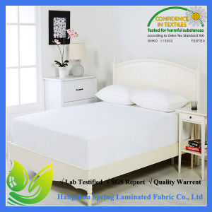 Cotton Waterproof and Hypo-Allergenic Mattress Protector Full Size pictures & photos