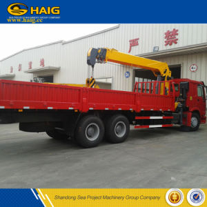 12t Telescopic Boom Material Handling Truck Mounted Crane