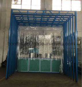 China Inflatable Paint Booth Portable Folding Garage ...