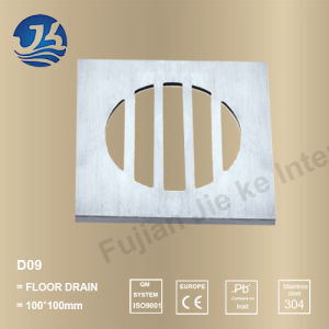 Stainless Steel Bathroom Hardware Floor Drain (D09)
