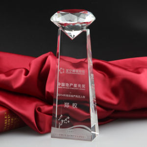 2016 Simple Custom Crystal Blank Trophy for Wholesale pictures & photos