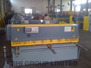Hydraulic Swing Beam Shearing Machine QC12k-6*2000 Touch Screen ID