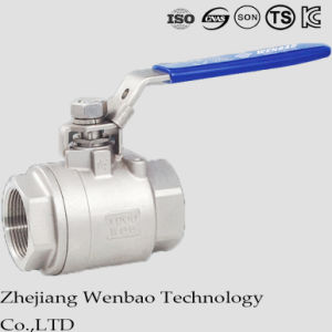 2PC Female Thread Stainless Steel Ball Valve with Manul Handle pictures & photos
