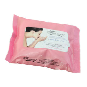 25 Sheets Packing Ladies Wet Wipes pictures & photos