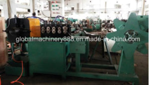 Flexible Interlocked Metal Exhaust Pipe/ Strip Wound Hose Manufacturing Machine