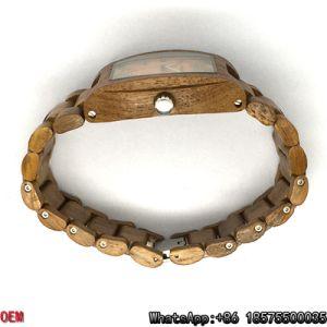 Top-Quality Teak-Wooden Watch Quartz Watch Hl16 pictures & photos
