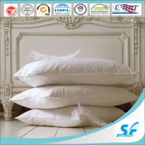 Wholesale Customized Soft Hotel Feather Down Neck Pillow pictures & photos