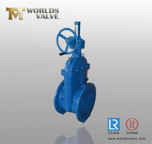 Bevel Gear Ductile Iron Gate Valve with CE Approved pictures & photos