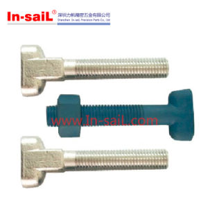 DIN186 Stainless Steel T Head Bolts with Square Neck Bolts pictures & photos