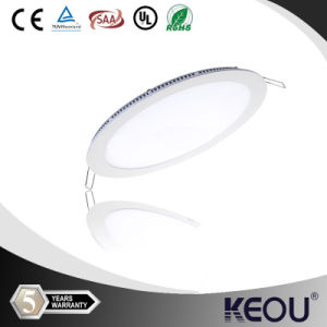 9W 12W 15W 18W Round LED Downlight Panel pictures & photos