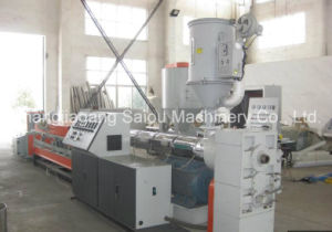 Single Screw Extruder HDPE Double Wall Corrugated Tube Machine pictures & photos