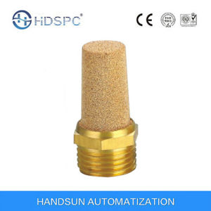 Brass Good Quality Pneumatic Copper Muffler pictures & photos