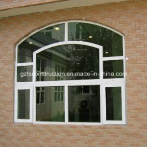 Top Double Glazing Casement PVC Fixed Window pictures & photos