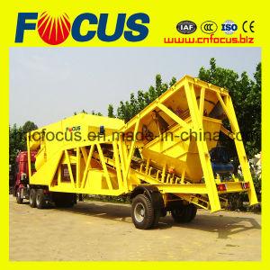 75cbm/H Mobile Concrete Batching Plant, Yhzs75 Movable Concrete Mixing Station pictures & photos