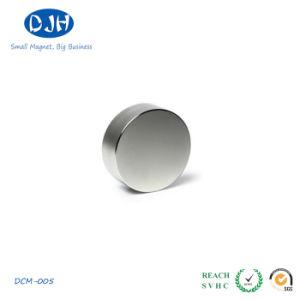 China High Qualtiy Cylinder Shape Rare Earth Neodymium Speaker Magnet pictures & photos