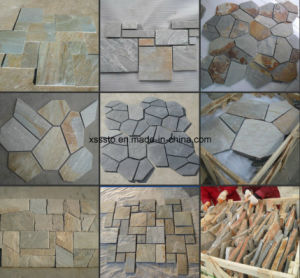 Natural Stone Flagstone Slate for Paving pictures & photos