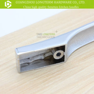 Clear Diamond Plaid Zinc Metarial Kitchen Handle Furniture Hardware pictures & photos