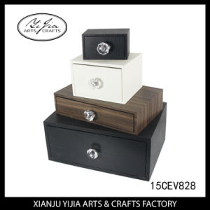 4 Layer Home Decoration Wooden Box for Jewelry and Makeup