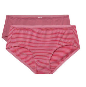 2016 Customize Cotton Striped Popular Women Sexy Panty pictures & photos