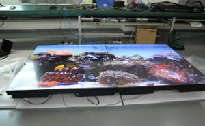 "55"" Ultra Narrow Bezel (3.5mm) LCD Video Wall with 3X3/3X4 Splicing pictures & photos"