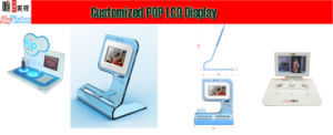 LCD Display with Acrylic Display Multi-Button Option pictures & photos