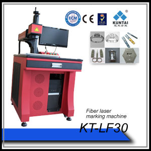 30W Fiber Laser Marking Machine for Autoparts Metals pictures & photos