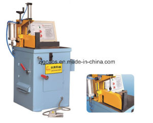 Manual Aluminum Circular Cold Saw Machine with Pneumatic Control pictures & photos