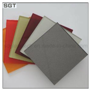Low Iron Decoration Lacquered Painted Kitchen Backsplash Wall Glass pictures & photos