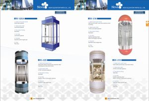 630kgs-1250kgs Panoramic Elevator Lift with Glass Cabin pictures & photos