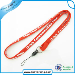Effictive Custom Mobile Phone Logo Printed Tube Lanyard pictures & photos