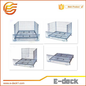Stackable High Quality Foldable Storage Wire Mesh Container