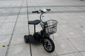 Certificate Electric Tricycle 48V 500W, Cheap Electric Tricycle, Hot Sale Solar Power Scooter pictures & photos