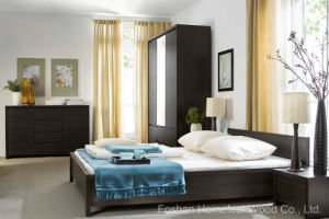 Modern Simple Form Bedroom Furniture Sets (HF-EY08266) pictures & photos
