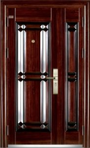 Double Leaf Steel Door Price, Mother&Son Door. pictures & photos